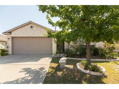 Round Rock Single Family Home Pending - Taking Backups: 2852 Hearthsong Loop