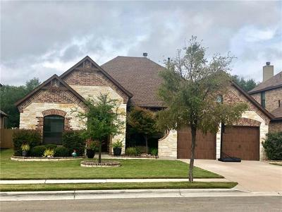 Cedar Park Single Family Home For Sale: 2415 Sweetwater Ln