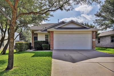 Leander Single Family Home For Sale: 2710 Winslow Dr