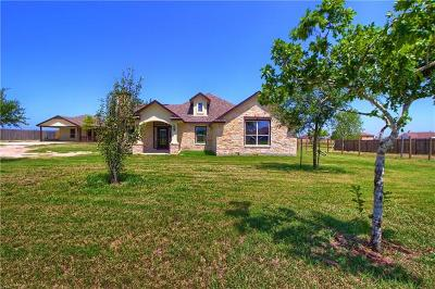 Del Valle Single Family Home For Sale: 136 Maldonado Trl