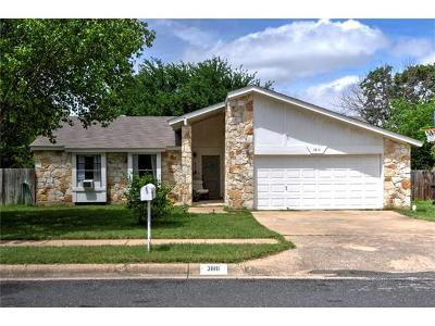 Round Rock TX Rental For Rent: $1,495