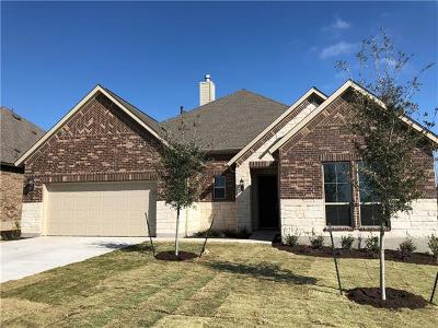 Round Rock Single Family Home For Sale: 6713 Leonardo Dr