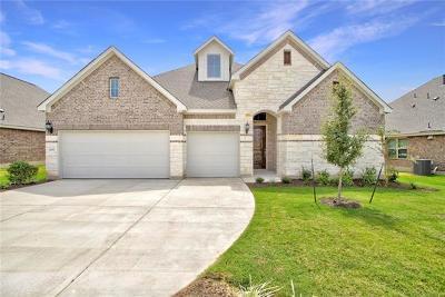 Leander Single Family Home For Sale: 2008 Bear Creek Dr