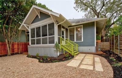 Austin TX Single Family Home For Sale: $492,500