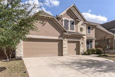 Round Rock Single Family Home For Sale: 4531 Monterosa Ln