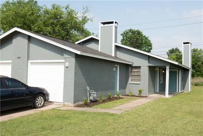 Austin Multi Family Home For Sale: 7004 Millrace Dr