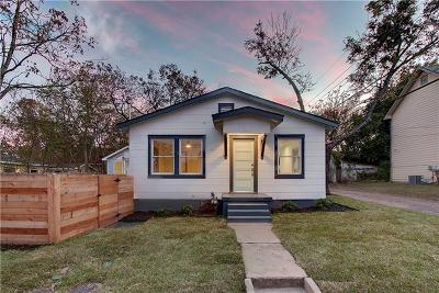 Travis County Single Family Home For Sale: 505 E 54th St #A