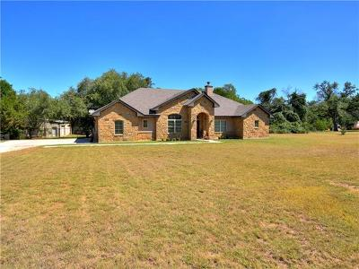 Liberty Hill Single Family Home For Sale: 604 Carriage Oaks Dr