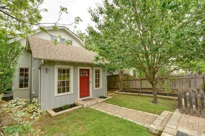 Travis County Single Family Home Pending - Taking Backups: 1608 W 11th St