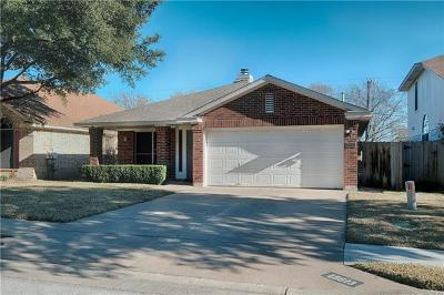 Travis County Single Family Home Pending - Taking Backups: 15613 Imperial Jade Dr