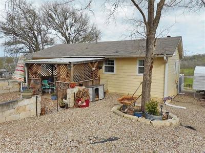 Bastrop County Single Family Home Pending - Taking Backups: 175 Settlers Trl
