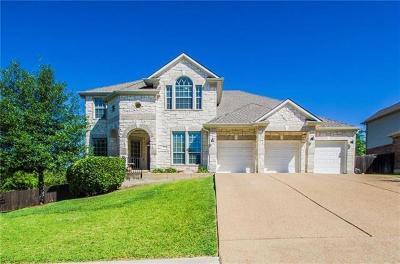 Cedar Park Single Family Home Active Contingent: 3203 Argento Pl