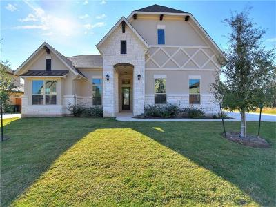 Leander Single Family Home For Sale: 2421 Great Path