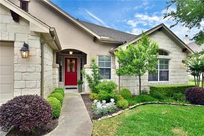 Hays County, Travis County, Williamson County Single Family Home Pending - Taking Backups: 11036 River Plantation Dr