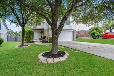 Round Rock Single Family Home For Sale: 17312 Valentine Dr