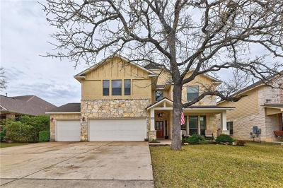 Round Rock Single Family Home For Sale: 3701 Derby Trl