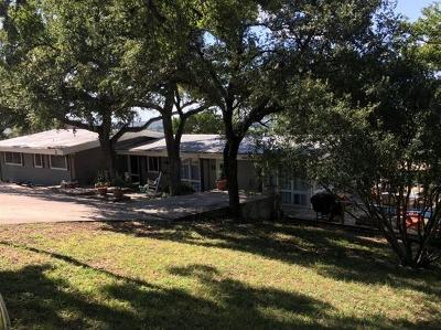 Burnet County Single Family Home Pending - Taking Backups: 212 Calle Dos