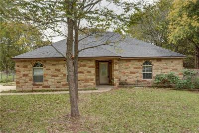 Bastrop County Single Family Home Pending - Taking Backups: 1267 Lovers Ln