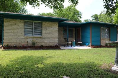 Austin Single Family Home For Sale: 5810 Mojave Dr