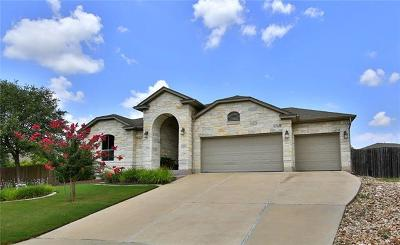 Round Rock Single Family Home For Sale: 2804 Aaron Ross Cv