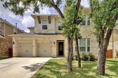 Cedar Park Single Family Home Pending - Taking Backups: 4129 Bison Bnd