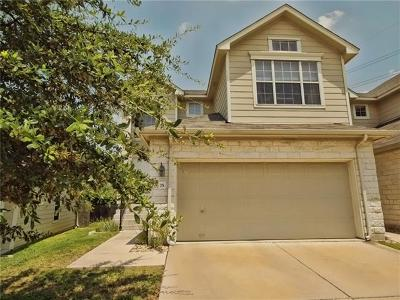Travis County Condo/Townhouse For Sale: 2632 Century Park Blvd #75