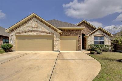 Pflugerville Single Family Home For Sale: 3412 Plover Run Trl
