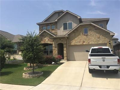 Leander Single Family Home For Sale: 617 Rancho Verde Dr