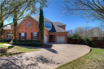 Round Rock Single Family Home Pending - Taking Backups: 2812 Cool River Loop