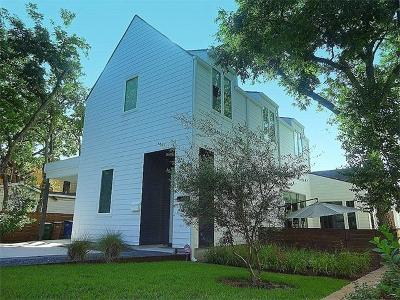 Austin Single Family Home For Sale: 1602 Newton St
