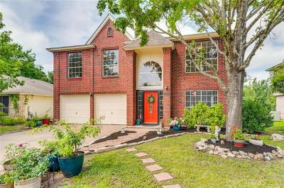 Cedar Park Single Family Home Pending - Taking Backups: 815 Brook Meadow Trl