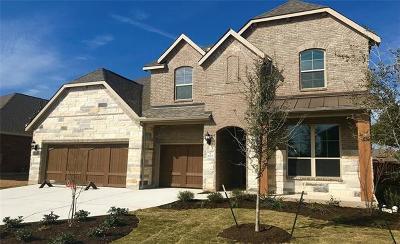 Leander Single Family Home For Sale: 1625 Hollowback Dr