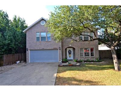 Cedar Park Single Family Home For Sale: 904 Lodosa Dr