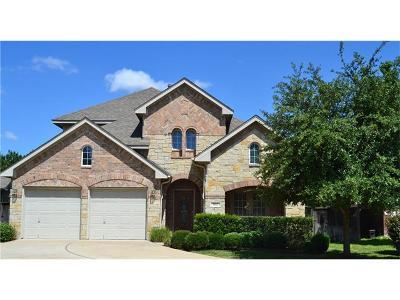 Round Rock Single Family Home Pending - Taking Backups: 802 Fork Ridge Path