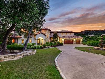 Jonestown TX Single Family Home For Sale: $1,395,000
