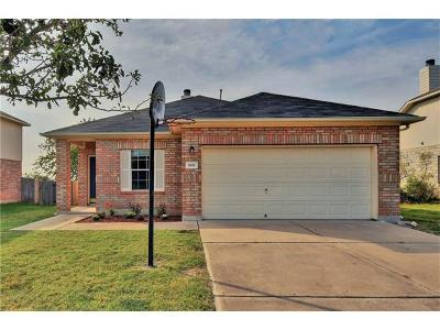 Leander Single Family Home For Sale: 808 North Creek Dr