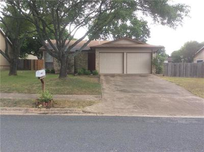 Round Rock Rental For Rent: 3112 Freemont St