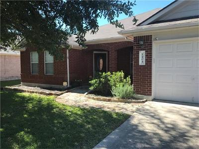 Round Rock Single Family Home For Sale: 1404 Terra St