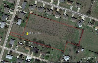 Residential Lots & Land For Sale: 302 Dixie Dr