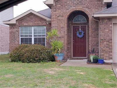 Pflugerville Single Family Home For Sale: 3429 Winding Shore Ln