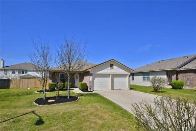 Hutto Single Family Home For Sale: 508 Paige Bnd