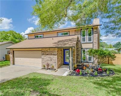 Austin TX Single Family Home For Sale: $383,000