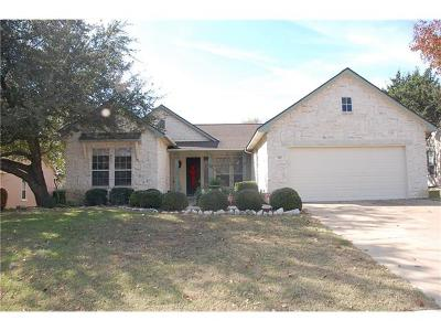 Georgetown Single Family Home For Sale: 103 Hill Country Dr