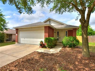 Pflugerville Single Family Home For Sale: 1220 Sleepytime Trl