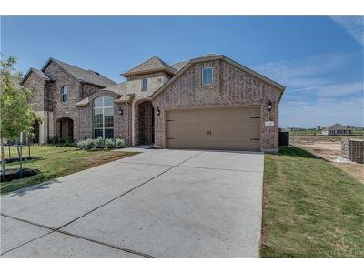 Leander Single Family Home For Sale: 520 Mistflower Springs