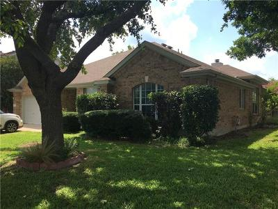 Round Rock Single Family Home For Sale: 8312 Liberty Walk Dr