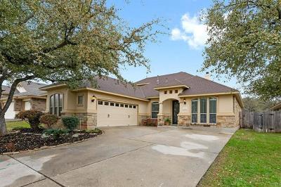 Cedar Park Single Family Home For Sale: 1013 Dogwood Trl