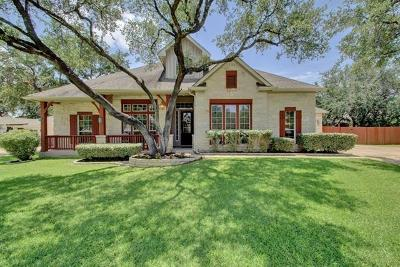 Round Rock Single Family Home For Sale: 4103 Risa Ct