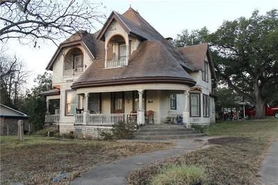 Lampasas Single Family Home Pending - Taking Backups: 502 S Broad St
