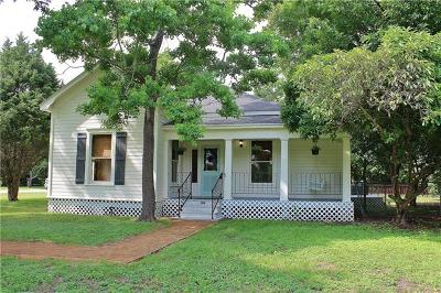 Williamson County Single Family Home Pending - Taking Backups: 242 W Jackson St